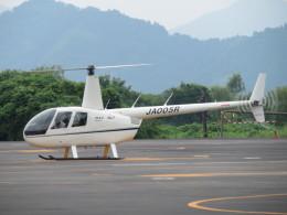 ランチパッドさんが、静岡ヘリポートで撮影したローゼン航空 R44 Ravenの航空フォト(飛行機 写真・画像)