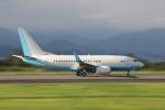 VEZEL 1500Xさんが、静岡空港で撮影した大韓航空 737-7B5 BBJの航空フォト(写真)