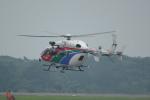せせらぎさんが、静岡空港で撮影した茨城県防災航空隊 BK117C-2の航空フォト(写真)