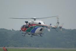 せせらぎさんが、静岡空港で撮影した茨城県防災航空隊 BK117C-2の航空フォト(飛行機 写真・画像)