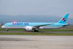Tomo-Papaさんが、関西国際空港で撮影した大韓航空 787-9の航空フォト(写真)