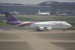 なまくら はげるさんが、羽田空港で撮影したタイ国際航空 747-4D7の航空フォト(写真)