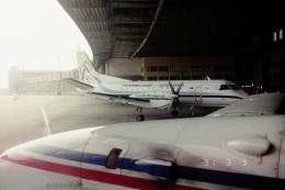 ヒロリンさんが、ベルリン・テムペルホーフ空港で撮影したテンペルホーフ・エアウェイズUSA 340Aの航空フォト(飛行機 写真・画像)