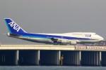 ちっとろむさんが、羽田空港で撮影した全日空 747-481(D)の航空フォト(写真)