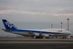 Hiro-hiroさんが、羽田空港で撮影した全日空 747-481(D)の航空フォト(写真)