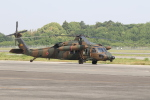 ショウさんが、高遊原分屯地で撮影した陸上自衛隊 UH-60JAの航空フォト(写真)
