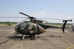 ショウさんが、高遊原分屯地で撮影した陸上自衛隊 OH-6Dの航空フォト(写真)