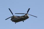 ショウさんが、赤坂プレスセンターで撮影したアメリカ陸軍 CH-47Fの航空フォト(写真)