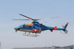 ショウさんが、東京ヘリポートで撮影した朝日航洋 430の航空フォト(写真)