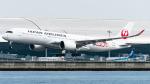 pinama9873さんが、関西国際空港で撮影した日本航空 A350-941XWBの航空フォト(写真)