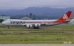 RINA-281さんが、小松空港で撮影したカーゴルクス 747-8R7F/SCDの航空フォト(写真)
