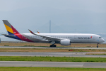 Tomo-Papaさんが、関西国際空港で撮影したアシアナ航空 A350-941XWBの航空フォト(写真)