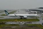 k-spotterさんが、関西国際空港で撮影したキャセイパシフィック航空 A350-1041の航空フォト(写真)