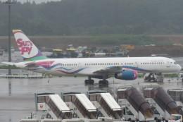 SFJ_capさんが、成田国際空港で撮影したサンデー・エアラインズ 757-21Bの航空フォト(写真)