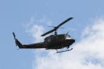 ショウさんが、旭川駐屯地で撮影した陸上自衛隊 UH-1Jの航空フォト(飛行機 写真・画像)