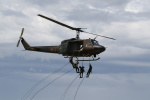 ショウさんが、旭川駐屯地で撮影した陸上自衛隊 UH-1Jの航空フォト(写真)