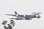 Re4/4さんが、成田国際空港で撮影したタイ国際航空 A380-841の航空フォト(写真)