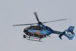 ショウさんが、泉大津で撮影した宮崎県警察 EC135T2+の航空フォト(写真)