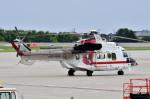 Dojalanaさんが、函館空港で撮影した朝日航洋 AS332L1 Super Pumaの航空フォト(飛行機 写真・画像)