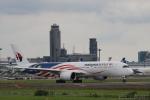 さおまるさんが、成田国際空港で撮影したマレーシア航空 A350-941XWBの航空フォト(写真)