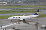 meijeanさんが、羽田空港で撮影したスカイマーク 737-8HXの航空フォト(写真)