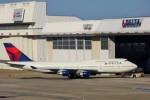 ちっとろむさんが、成田国際空港で撮影したデルタ航空 747-451の航空フォト(写真)
