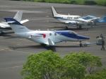 ヒコーキグモさんが、岡南飛行場で撮影した日本法人所有 HA-420の航空フォト(写真)