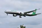 mojioさんが、成田国際空港で撮影したエバー航空 777-36N/ERの航空フォト(飛行機 写真・画像)