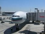 ヒロリンさんが、ロサンゼルス国際空港で撮影したキャセイパシフィック航空 777-367/ERの航空フォト(写真)