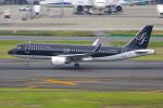 PASSENGERさんが、羽田空港で撮影したスターフライヤー A320-214の航空フォト(写真)