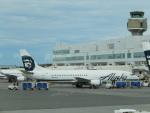 ごうきゅうさんが、テッドスティーブンズ・アンカレッジ国際空港で撮影したアラスカ航空 737-4Q8Fの航空フォト(写真)