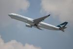 OMAさんが、香港国際空港で撮影したキャセイパシフィック航空 A330-343Xの航空フォト(飛行機 写真・画像)