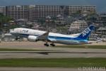 遠森一郎さんが、福岡空港で撮影した全日空 787-8 Dreamlinerの航空フォト(写真)