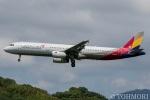 遠森一郎さんが、福岡空港で撮影したアシアナ航空 A321-231の航空フォト(写真)