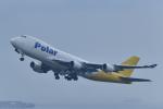 岡ちゃんさんが、中部国際空港で撮影したポーラーエアカーゴ 747-47UF/SCDの航空フォト(写真)
