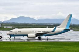 bestguyさんが、静岡空港で撮影した大韓航空 737-7B5 BBJの航空フォト(写真)