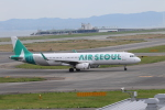 Hiroki.Sさんが、関西国際空港で撮影したエアソウル A321-231の航空フォト(写真)