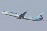 あしゅーさんが、福岡空港で撮影した大韓航空 737-9B5/ER の航空フォト(写真)