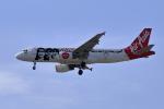 やまさんが、タンソンニャット国際空港で撮影したタイ・エアアジア A320-216の航空フォト(写真)