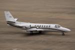 ドリさんが、福島空港で撮影した中日本航空 560 Citation Vの航空フォト(写真)