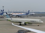 ヒロリンさんが、成田国際空港で撮影したエアプサン A321-231の航空フォト(写真)