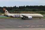 青春の1ページさんが、成田国際空港で撮影したエティハド航空 787-9の航空フォト(写真)