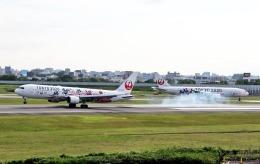 nagareboshiさんが、伊丹空港で撮影した日本航空 767-346/ERの航空フォト(写真)