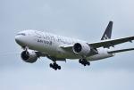 mojioさんが、成田国際空港で撮影したユナイテッド航空 777-224/ERの航空フォト(写真)