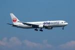 採れたてほしいもさんが、羽田空港で撮影した日本航空 767-346の航空フォト(写真)