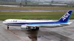 誘喜さんが、仙台空港で撮影した全日空 767-381の航空フォト(写真)