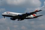 採れたてほしいもさんが、ロンドン・ヒースロー空港で撮影したブリティッシュ・エアウェイズ A380-841の航空フォト(写真)