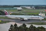 mojioさんが、成田国際空港で撮影したカタール航空 777-3DZ/ERの航空フォト(飛行機 写真・画像)
