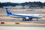 採れたてほしいもさんが、成田国際空港で撮影した全日空 A320-211の航空フォト(写真)