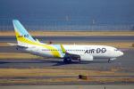 ちゃぽんさんが、羽田空港で撮影したAIR DO 737-781の航空フォト(写真)